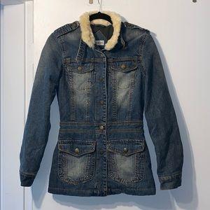 Moto Jean Jacket